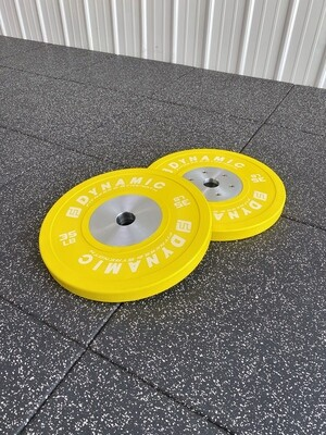 35LB Yellow Competition Bumper Plates (Pair)