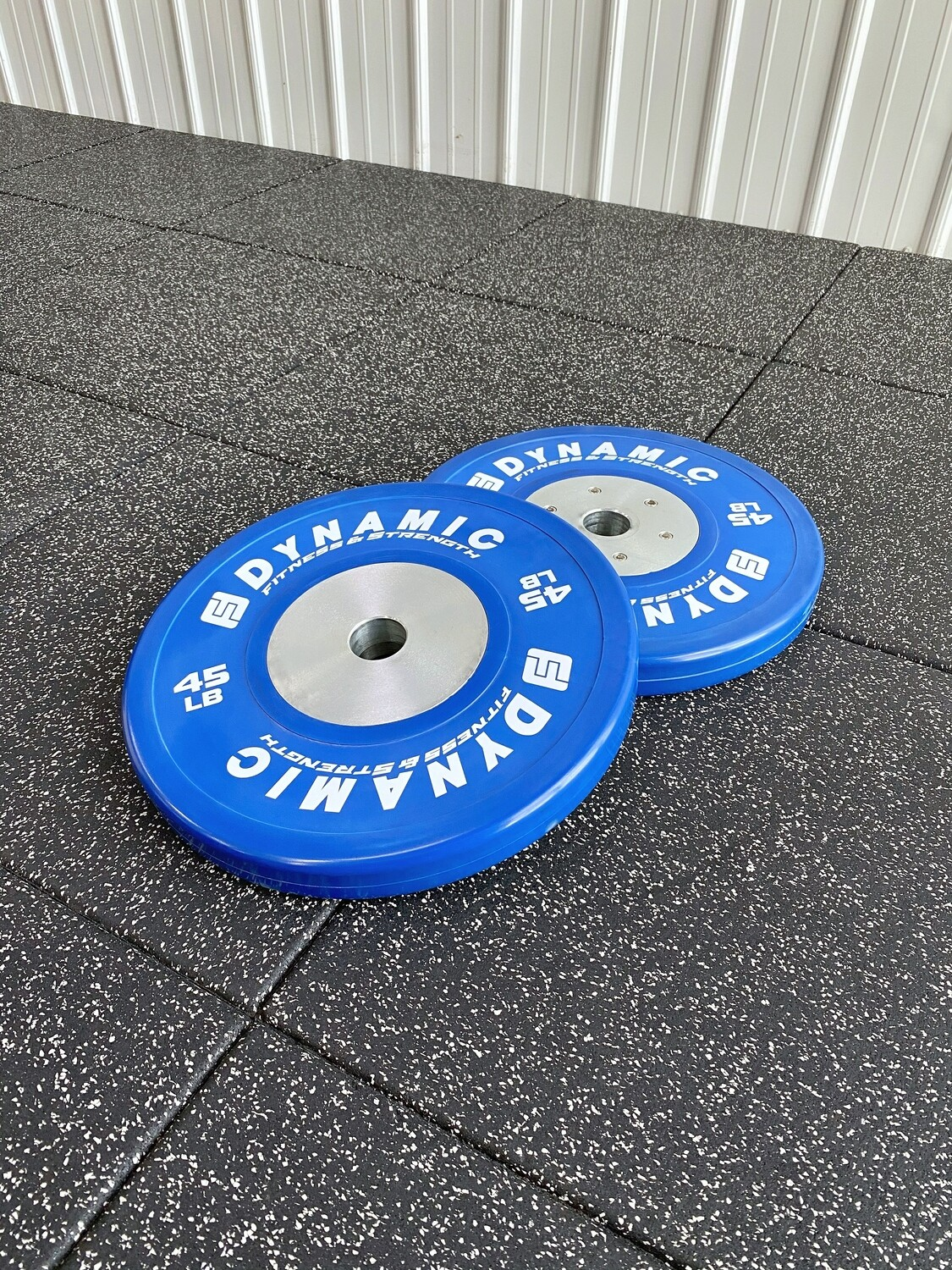 45LB Blue Competition Bumper Plate (Pair)