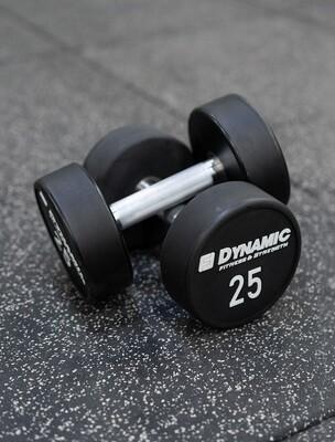 25 lb Urethane Dumbbell (Pair)