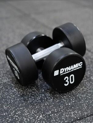 30 lb Urethane Dumbbell (Pair)