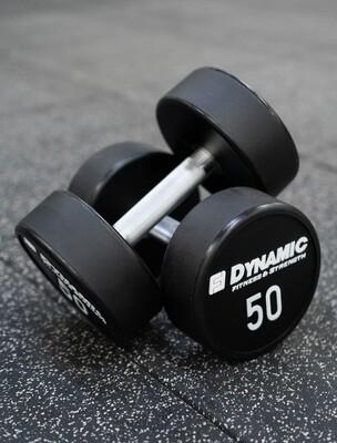 50 lb Urethane Dumbbell (Pair)