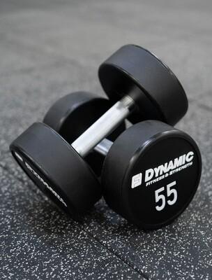 55 Ib Urethane Dumbbell (Pair)