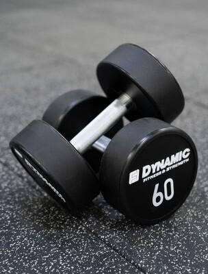 60 lb Urethane Dumbbell (Pair)