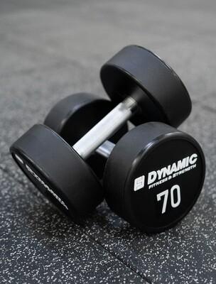 70 lb Urethane Dumbbell (Pair)