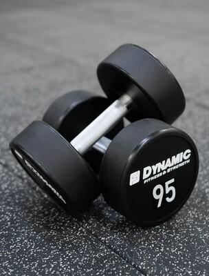 95 lb Urethane Dumbbell (Pair)