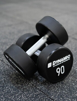 90 lb Urethane Dumbbell (Pair)