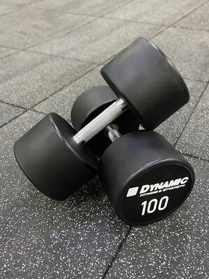 100 lb Urethane Dumbbell (Pair)