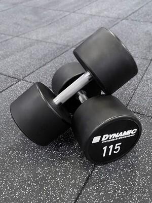 115 lb Urethane Dumbbell (Pair)