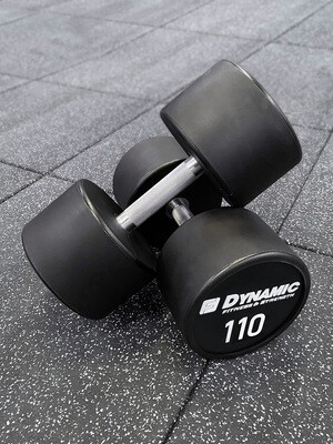110 lb Urethane Dumbbell (Pair)