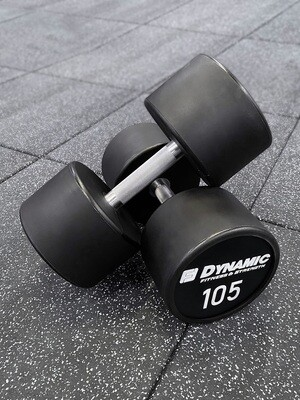 105 lb Urethane Dumbbell (Pair)
