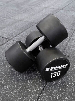 130 lb Urethane Dumbbells (Pair)