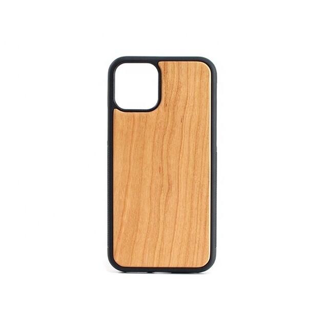 iPhone 11 Cherry Wood Case