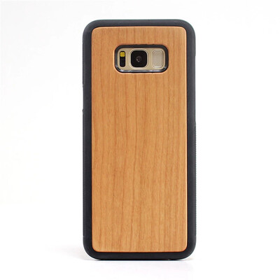 Galaxy S8 Plus Cherry Wood Case