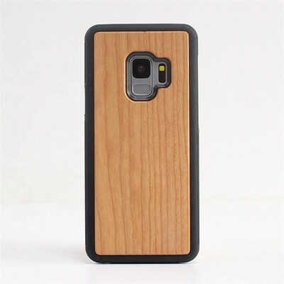 Galaxy S9 Cherry Wood Case