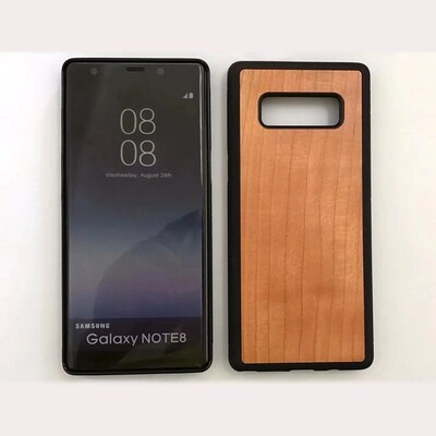 Note 8 Cherry Wood Case