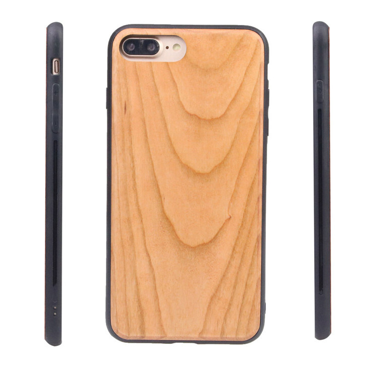 iPhone 7, iPhone 8, iPhone SE(2020), iPhone 6 Cherry Wood Case (Pre Glued)
