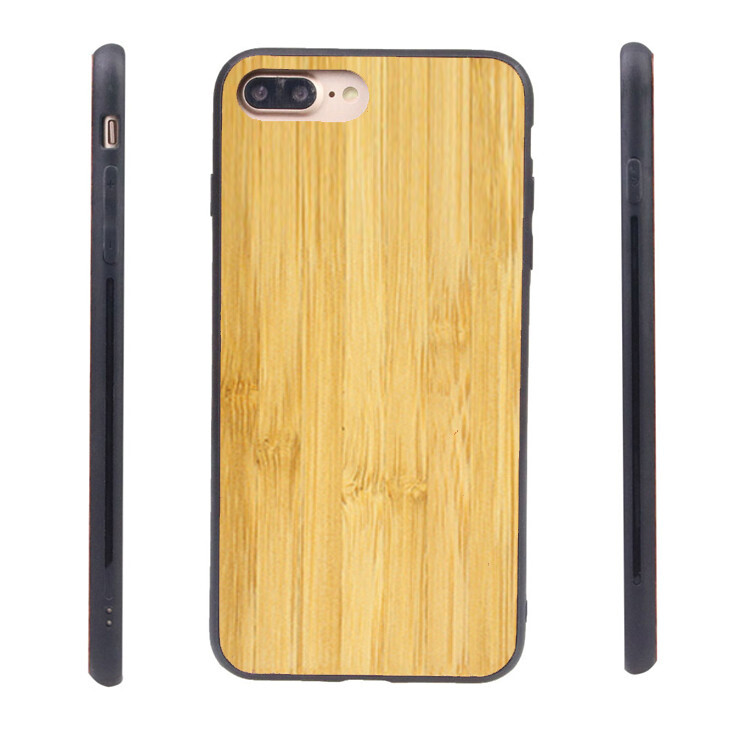 iPhone 7 Plus, iPhone 8 Plus, iPhone 6 Plus Bamboo Case (Pre Glued)