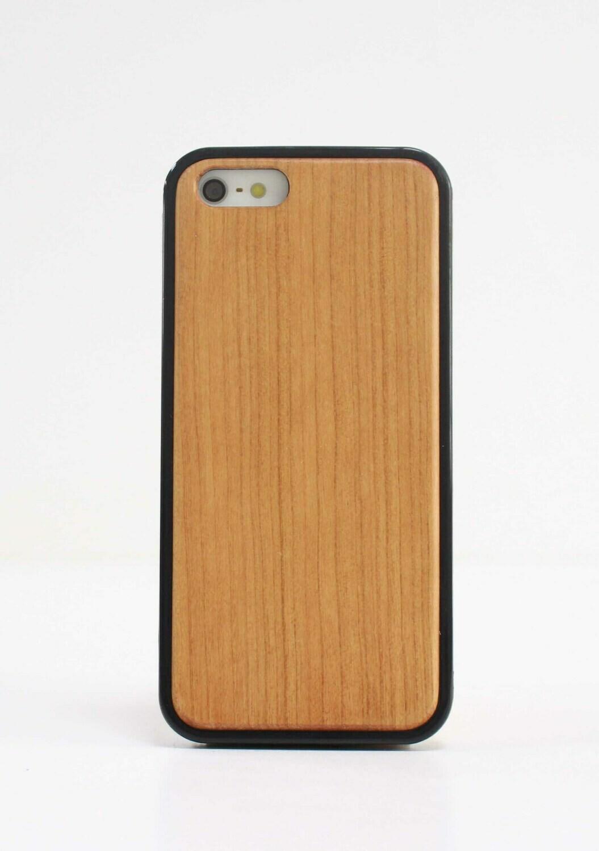 iPhone 5, iPhone 5S, iPhone SE(2016) Cherry Wood Case