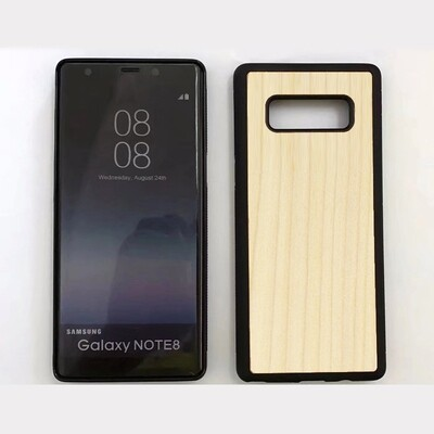 Note 8 Maple Wood Case