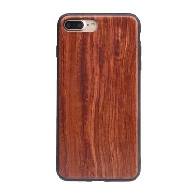 iPhone 7 Plus, iPhone 8 Plus, iPhone 6 Plus Rosewood Case (Pre Glued)