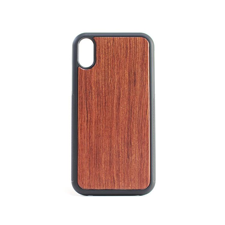 iPhone XR Rosewood Case (Pre Glued)