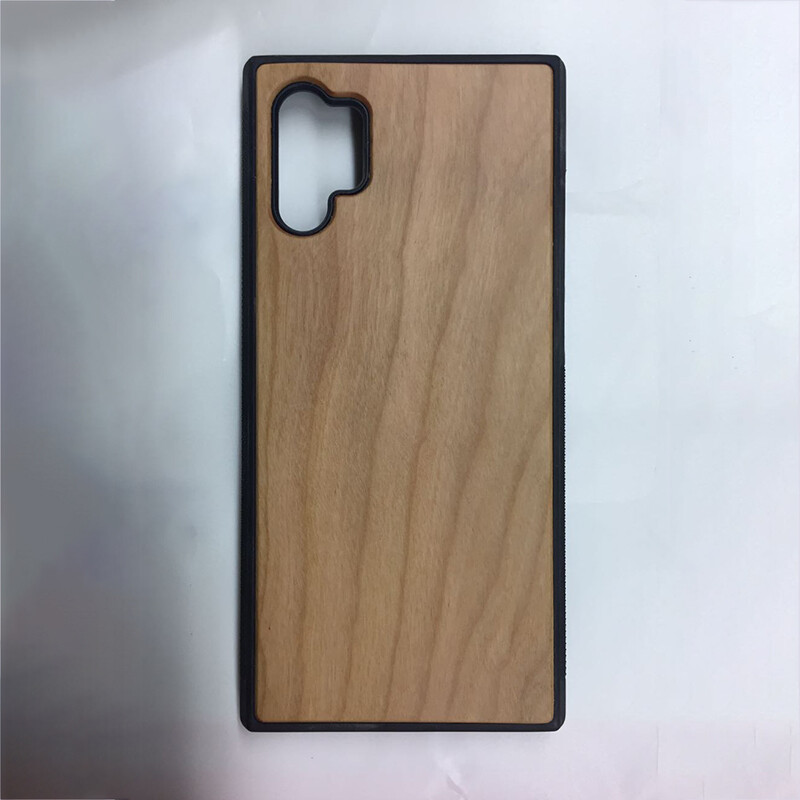 Note 10 Plus Cherry Wood Case (Pre Glued)