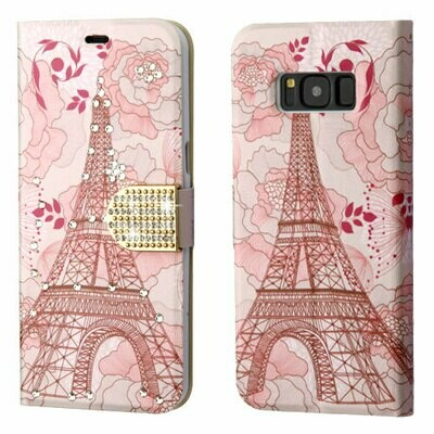 Galaxy S8 Wallet Case - Eiffel Tower