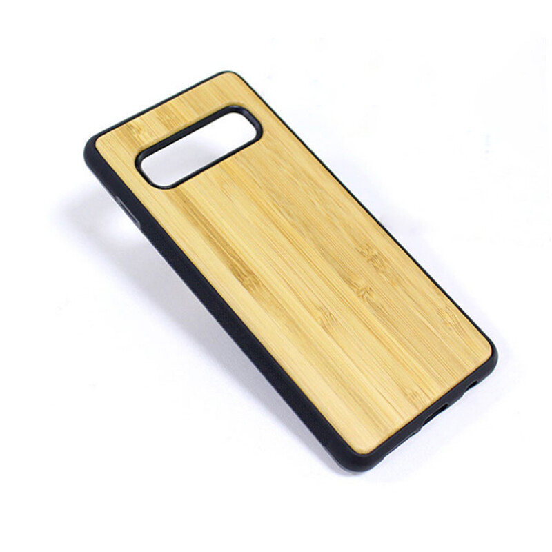 Galaxy S10 Bamboo Case