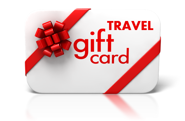 Gift card various amounts can be used for any purchase at Travelers Clearing House.