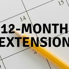 12 Month extension on vacation package already purchased