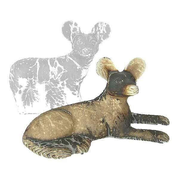 African Wild Dog (Lying)