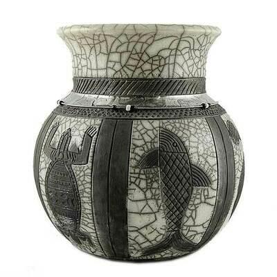 Black and White Pot