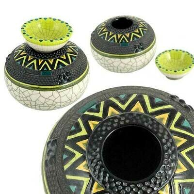 Zulu Pot Small & T-light holder