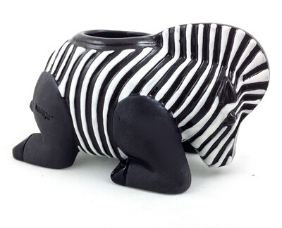 Zebra T - Light Candle holder