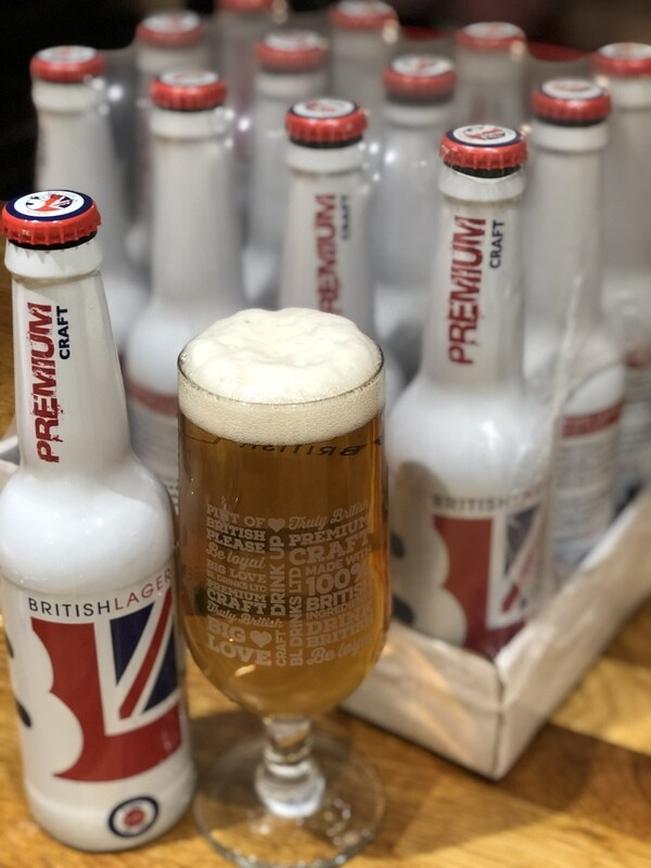 Winchester, Ascot and surrounding areas. Discounted lockdown special AND FREE delivery   British Lager 24 x 330ml Bottles   whilst stocks last!