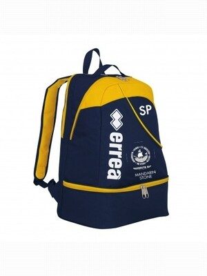 Backpack, Blue & Yellow