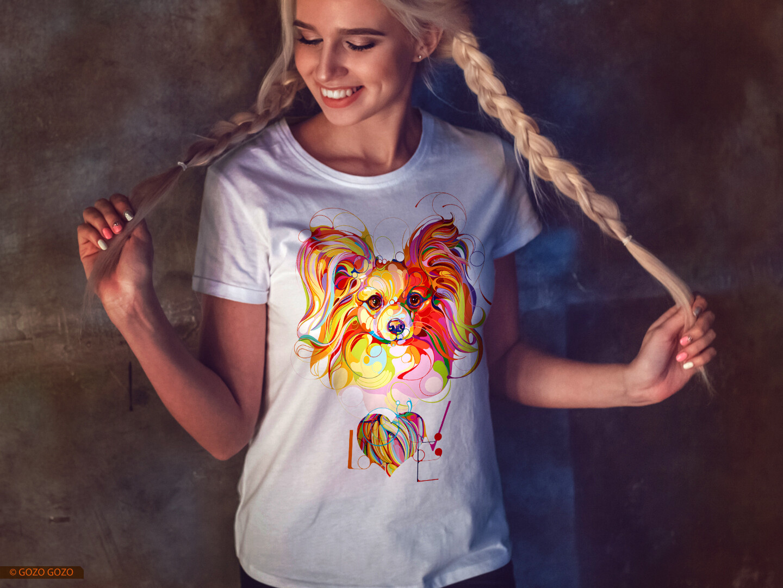 Футболка Color Dogs - 002