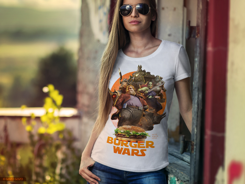 Футболка Burger Wars - 001