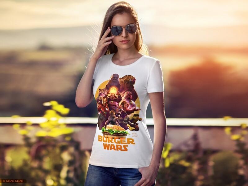 Футболка Burger Wars - 009