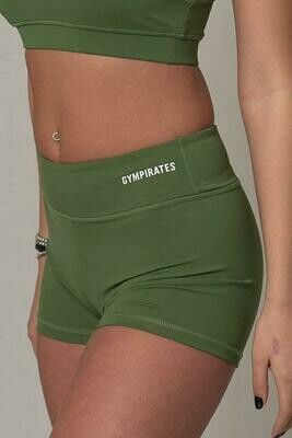 ALPHA Shorts - Kale Green