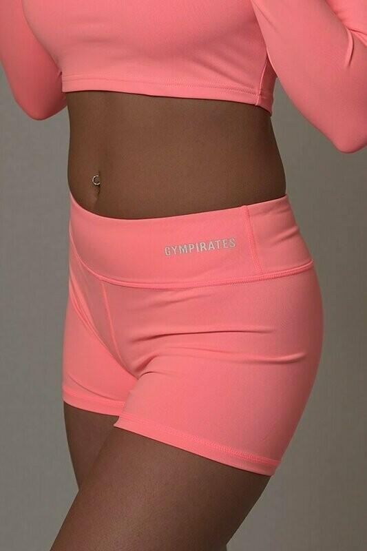 ALPHA Shorts - Coral Peach