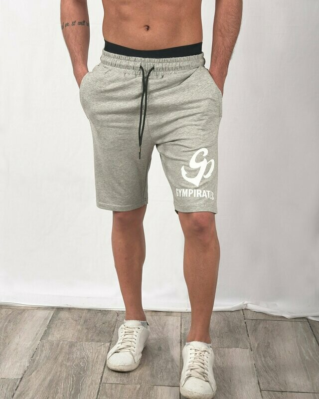 French Terry Shorts - Light Gray