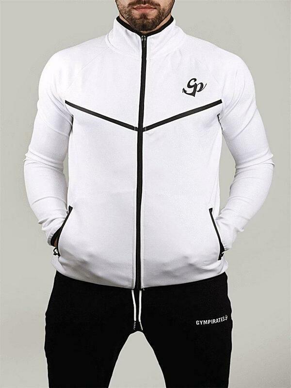 Gympirates Xatro Athletes Jacket - White