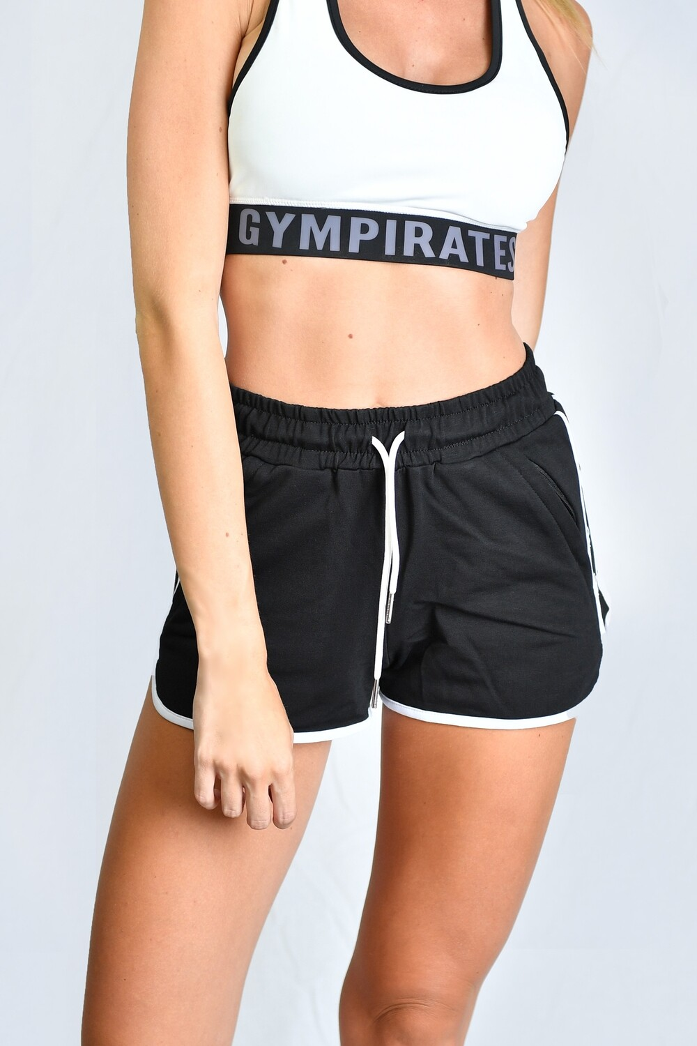 GP Mini Shorts - Black