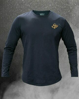 Classic Gympirates Longsleeve - Navy Blue