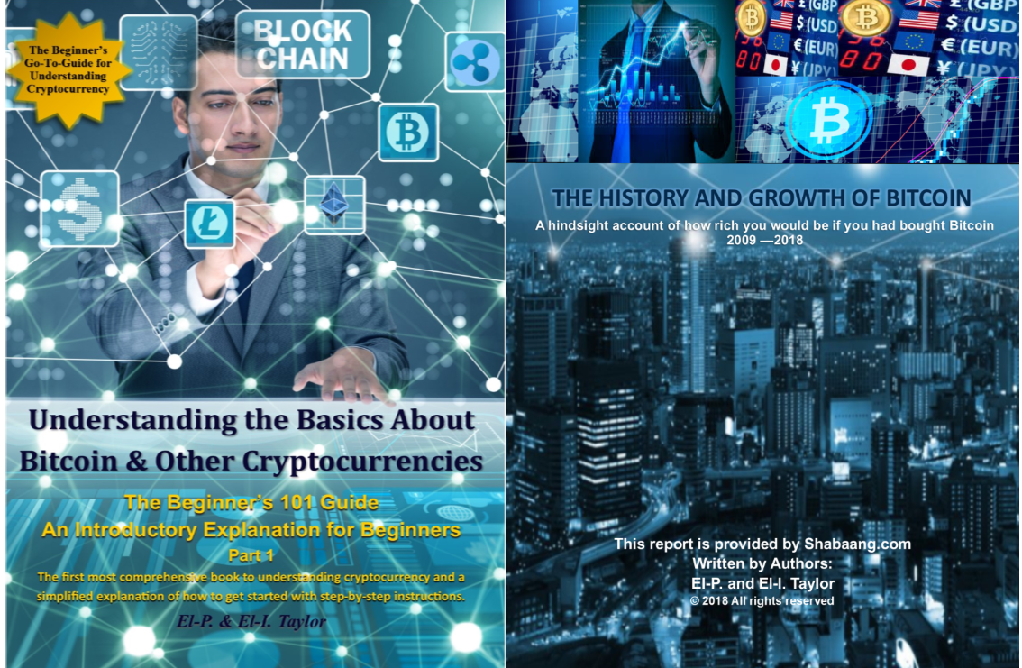 3 for 1 Combo Pack (ePUB & PDF) Understanding the Basics About Bitcoin & Other Cryptocurrencies & The History and Growth of Bitcoin Report