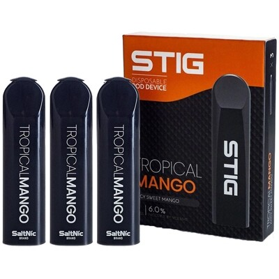STIG 3 PACK disposable Vapes