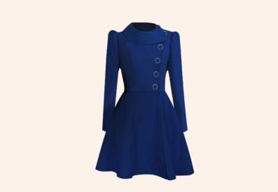 Coat Bleu