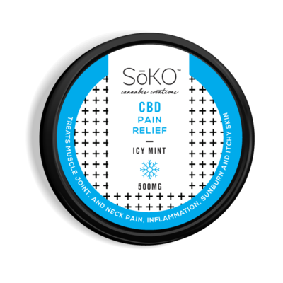 Soko Hemp CBD Icy Mint Topical
