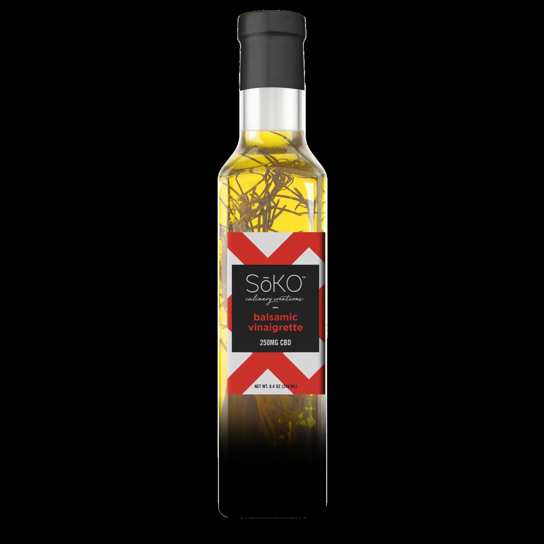 Soko Hemp CBD Balsamic Vinaigrette